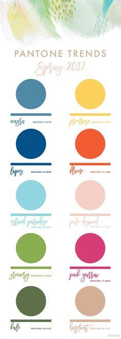 Pantone Spring 2017 Color Trends Report Erika Firm http://spotpopfashion.com/d4av