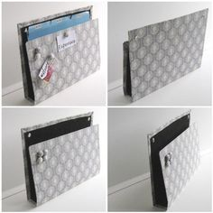 Wall Mountable magnet board/mail holder