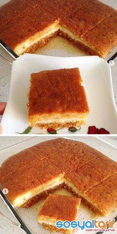 pudding recipes the - - Yemek Tarifleri - Resimli ve Videolu Yemek Tarifleri Desert Recipes, Gourmet Recipes, Borek Recipe, Pasta Cake, Easy Halloween Food, Time To Eat, Turkish Recipes, Yummy Cakes, Food Print