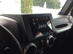 Ipad Jeep Dash Mount - Ipad Mini Dash Mount - Jeep ipad Dash Mount - Mount Ipad Mini to the Dash on Your Jeep - Jeep ipad Dashboard Mount