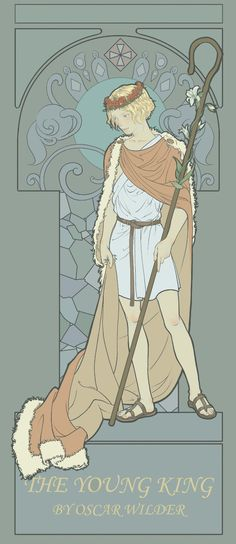 The young king (Mucha style)