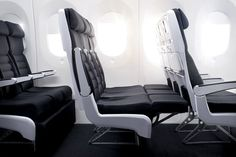 New Zealand Sky Couch Economy Class Seat