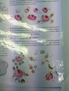 French way rose painting