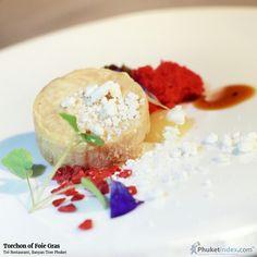 Torchon of Foie Gras at Tré Restaurant, Banyan Tree Phuket  #photooftheday #Phuketindex #Phuket #Thailand#relax #chill#delicious #food #breakfast #lunch #dinner#aroy #PearPuree #FreezeDriedRaspberry #CuredDuckMargret #PearCiderGastrique #HibiscusTeaGelee #DuckFatPowder #TorchonofFoieGras #FoieGras #BanyanTreePhuket