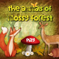 THE ANIMALS OF MOSSY FOREST: iPad: Lovely app for young kids (18 months-3 years is ideal). Help'em find all of the animals hiding in the forest and then interact with the little critters! (The animals that is). Nice music too.  https://itunes.apple.com/GB/app/id704407032