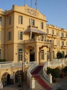 Old Winter Palace, Luxor EGYPT - have stayed here.  Agatha Christie had a room here also.