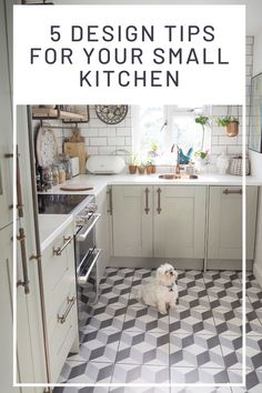 5 Design Tips For Your Small Kitchen - WeLoveHome - Home Ideal Home Magazine, House And Home Magazine, Interior Design Advice, Interior Stylist, Kitchen Ideas, Kitchen Design, Cheap Kitchen Cabinets, Low Cabinet, Love Home