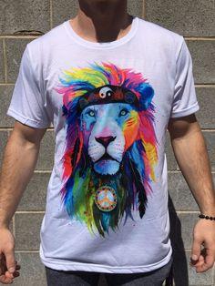 Hippie Lion Crew - Electro Threads™ - 1