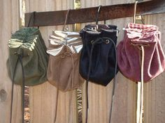 Awesome Medieval Renaissance Small by Renaissance Festival Costumes, Medieval Costume, Renaissance Fair, Renissance Festival, Craft Font, Crafts To Sell, Diy Crafts, Pouch Bag, Belt Pouch