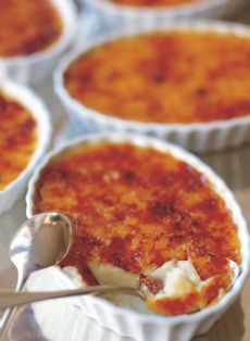One of my FAVORITE desserts!  Barefoot Contessa's Creme Brulee