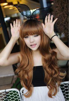 ♥, asian, asian fashion, beautiful, blonde