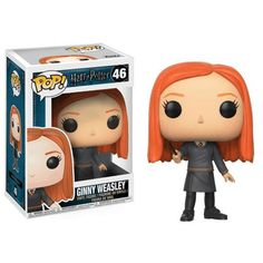 Vinyl Figure : The Harry Potter Ginny Weasley Pop! Vinyl Figure features the youngest of the Weasley children in her Hogwarts outfit. Ginny Weasley stands about 3 tall and is packaged in a window display box. Harry Potter Hermione Granger, Ron Y Hermione, Harry Potter Ginny Weasley, Harry Potter Movies, Funko Pop Harry Potter, Draco Malfoy, Ginny Weasly, Figurine Pop Harry Potter, Harry Potter Pop Figures