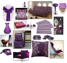 interiør lilla Colour, Purple, Polyvore, Fashion, Color, Moda, Fashion Styles, Fashion Illustrations, Viola
