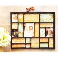 Creating a memory tray.