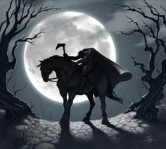 Woooo!!! It's the headless horseman!