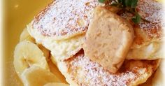 おうちで♡bills風リコッタパンケーキ   billsが公開しているレシピを参考に、2人分でチャレンジ♡リコッタチーズもハニーコームバター手作りでできます♪話題入り