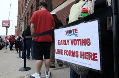 Early voting for the May primary begins today in Ohio. (Al Behrman, The Associated Press)