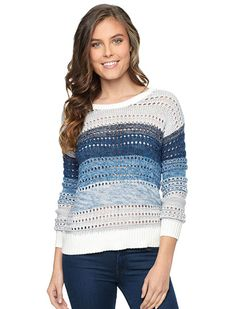 Splendid Palm Canyon Pullover Sweater #coloreveryday