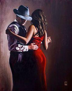 24 Ideas Dancing Couple Painting Romantic For 2019 Art Couple, Couple Painting, Couple Quotes, Tango Art, Romantic Dance, Fabian Perez, Tango Dancers, Dance Paintings, Couple Drawings