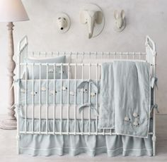 Nursery Collections l Hand-Knotted Sheep Nursery Bedding Collection by Restoration Hardware Baby & Child