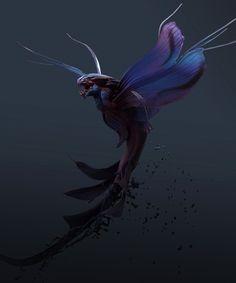 ArtStation - Sea Dragon, Tyler Smith