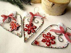 astra / vianočné srdiečka