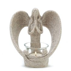 Home & Garden : Lighting, Candles, Lamps : Candleholders : #39695 Desert Angel Candleholder Shop at Mom N Dad's (momndads.com), The Family Gift Store