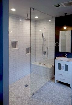 Glass Shower Panels Frameless Counttry Pinterest Shower - Commercial bathroom enclosures