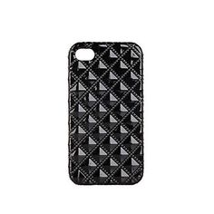 Black quilted iphone case £8