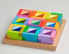 Coloraturo blocks from Learning Materials Workshop - $75