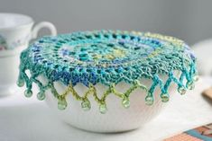 Crochet Bowl Covers Free Patterns And Video | The WHOot