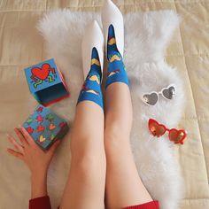 Clara Zebra: Happy Socks x Keith Haring