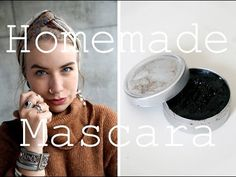 DIY Zero Waste Mascara // No Plastic // Two ingredients ! - YouTube