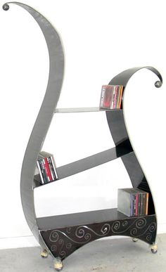 bookcase this is unusual! I like it!