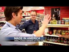 Beekman 1802 Farm Pantry and ABC World News Tonight with David Muir