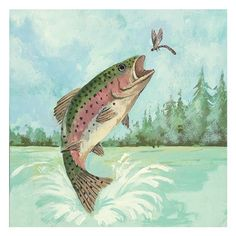 Trout+Jumping