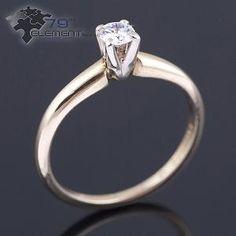 classic engagement ring 79diamenty.pl #engagementrings #yellowgold #diamond