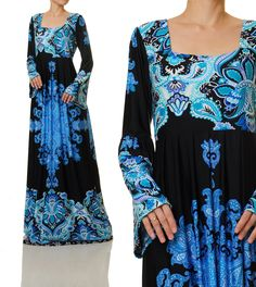 Long Boho Dress Jersey Abaya Maxi Dress Plus Size Maxi Plus Size Maternity Dresses, Modest Dresses, Plus Size Dresses, Long Sleeve Maxi, Maxi Dress With Sleeves, Diy Dress, Boho Dress, Plus Size Pregnancy, Plus Size Womens Clothing