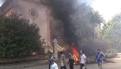 Egypt: Muslims bomb church north of Cairo on Palm Sunday, murdering at least 21 and injuring 38