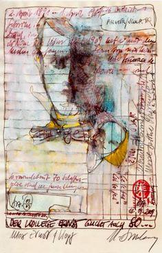 "Saatchi Art Artist Helge Brzoska; Painting, ""Max Ernst"" #art"