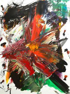 Popcorn #abstractexpressionism #modernart #abstractart #art #painting