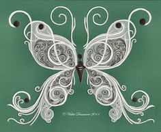 Paisley Lace Butterfly Henna Butterfly, White Butterfly, Parchment Cards, Cricut Cards, Homemade Crafts, Diy Crafts, Stained Glass Patterns, Rose Tattoos, Tatoos
