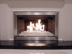 """Fireplace Fire Pit Glass FROSTED Chunky Clear ~1//2/"""" FIREGLASS Select Amount"""