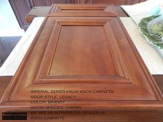 Imperial Series from Koch Cabinets. Kitchen And Bath Remodeling, Kitchen Cabinets In Bathroom, Home Remodeling, Cabinet Door Styles, Cabinet Doors, Palm Harbor Florida, Plywood Boxes, Professional Kitchen, Remodeling Contractors