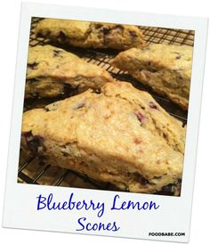 Blueberry Lemon Scon