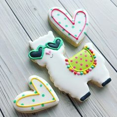 """427 Likes, 28 Comments - Margaret Rettig Nelson (@bluesugarcookieco) on Instagram: """"You're a llama fun  Cutters from @thesweetdesignsshoppe  #llamacookies #youreallamafun…"""""""