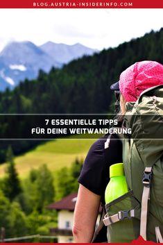Wenn du auf der Suche nach Tipps zu deiner nächsten Weitwanderung bist, bist du hier richtig! Durch meine Weitwanderung von Salzburg nach Innsbruck konnte ich einige praktische Erfahrungen zur Planung einer solchen Unternehmung sammeln. Worauf du vor einer Weitwanderung unbedingt denken solltest, um keine Probleme während der Tour zu bekommen, zeigen dir die nachfolgenden Tipps in diesem Artikel. Innsbruck, Austria, Travel, Outdoor, Europe, Road Trip Destinations, Sustainability, Outdoors, Viajes