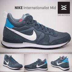 NEW IN! Der Nike Internationalist Mid in Blue Graphite.  Erhältlich in den Größen von 41 (US8) bis 47,5 (US13) Preis: 95,00 €  http://www.sneakerbox.me/INTERNATIONALIST-MID-BLUE-GRAPHITE  #nike #nikeinternationalist #welovenike #nikelove #sneakerbox #sneakerboxseligenstadt #sneakers #sneakerslover #sneaker #sneakerlover #boysinsneaker #sneakeroftheday