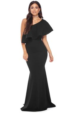 Mandy Black One Shoulder Dress via @bestfashionhq
