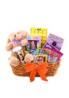 Say happy easter to someone special or to the whole family with say happy easter to someone special or to the whole family with this our largest easter basket the adults will love the lindt chocolate bunny whi negle Choice Image